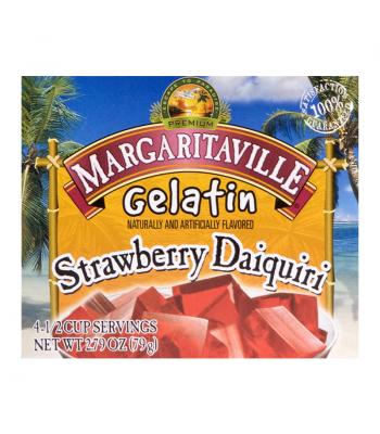 Margaritaville Strawberry Daiquiri Gelatin 2.79oz (79g) Food and Groceries