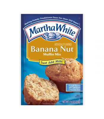 Martha White Banana Nut	Muffin Mix - 7.6oz (215g) Food and Groceries
