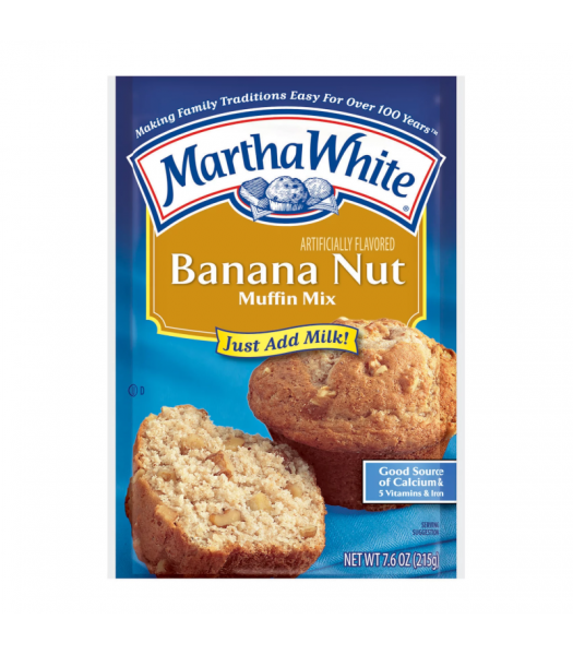 Clearance Special - Martha White Banana Nut Muffin Mix - 7.6oz (215g) **Bet Before: 09 September 21** Clearance Zone