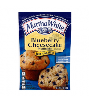 Martha White Blueberry Cheesecake Muffin Mix - 7oz (198g) Food and Groceries
