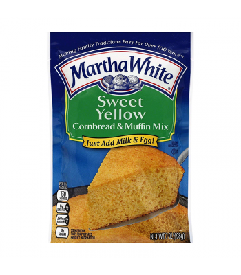 Martha White Sweet Yellow Cornbread & Muffin Mix - 7oz (198g) Food and Groceries