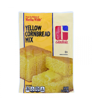 Martha White Gladiola Yellow Cornbread & Muffin Mix - 6oz (184g) Food and Groceries Martha White