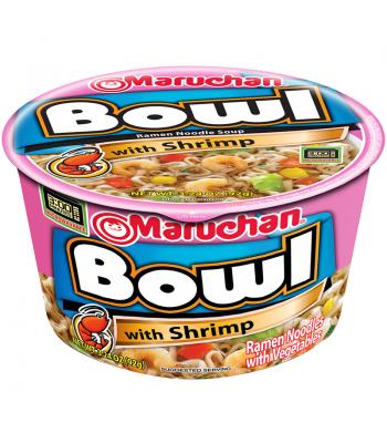 Maruchan Bowl - Shrimp Flavour - Ramen Noodles & Vegetables 3.3oz (94g) Food and Groceries Maruchan