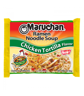 Maruchan Ramen Noodles Chicken Tortilla 3oz (85g)