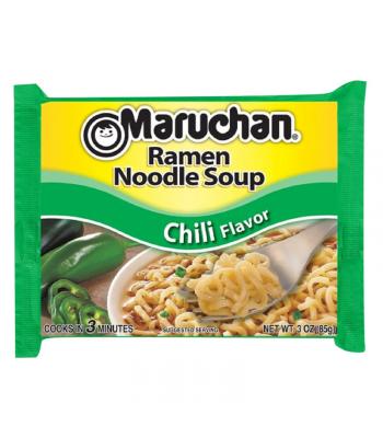 Maruchan - Chili Flavour Ramen Noodles - 3oz (85g) Pasta & Noodles Maruchan