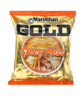 Maruchan Gold Ramen Noodles Spicy Miso - 4.21oz (119.5g) Food and Groceries Maruchan