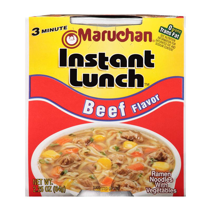 Maruchan - Beef Flavor Instant Lunch Ramen Noodles - 2 ...