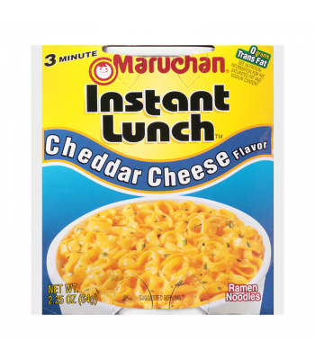 Maruchan Instant Lunch Cheddar Cheese Flavour Ramen Noodles 2.75oz (64g) Cup Pasta & Noodles Maruchan