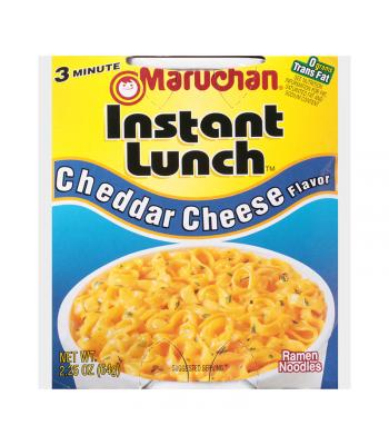 Maruchan Instant Lunch Cheddar Cheese Flavour Ramen Noodles 2.75oz (64g) Cup Pasta & Noodles Maruchan