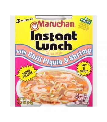 Maruchan - Chili Piquin & Shrimp Flavor Instant Lunch Ramen Noodles - 2.25oz (64g) Pasta & Noodles Maruchan