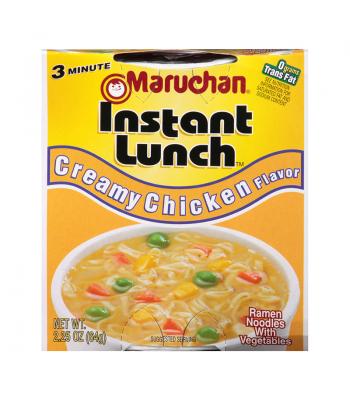 Maruchan Instant Lunch Creamy Chicken Flavour Ramen Noodles 2.75oz (64g) Cup Pasta & Noodles Maruchan