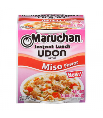 Maruchan Instant Lunch Udon Style Miso 2.25oz (64g) Food and Groceries Maruchan