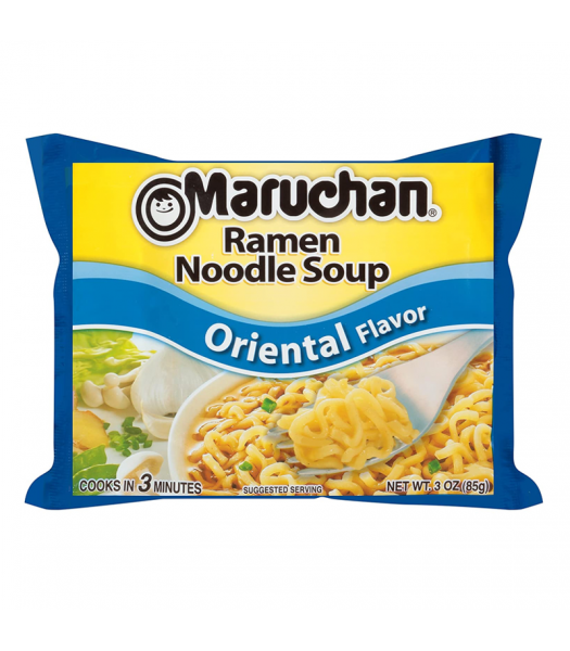 Maruchan - Oriental Flavor Ramen Noodles - 3oz (85g) Food and Groceries Maruchan