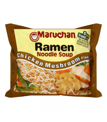 Maruchan - Chicken Mushroom Flavor Ramen Noodles - 3oz (85g) Food and Groceries Maruchan