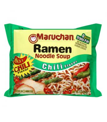 Maruchan Ramen Noodles - Chili Flavour - 3oz (85g) Pasta & Noodles Maruchan