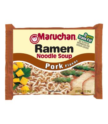 Maruchan Ramen Noodles Pork 3oz (85g) Pasta & Noodles Maruchan