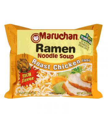 Maruchan - Roast Chicken Flavor Ramen Noodles - 3oz (85g) Pasta & Noodles Maruchan