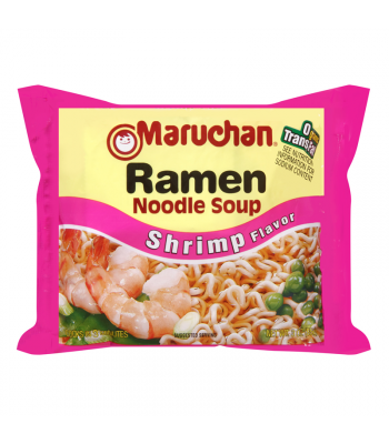 Maruchan - Shrimp Flavor Ramen Noodles - 3oz (85g) Pasta & Noodles Maruchan