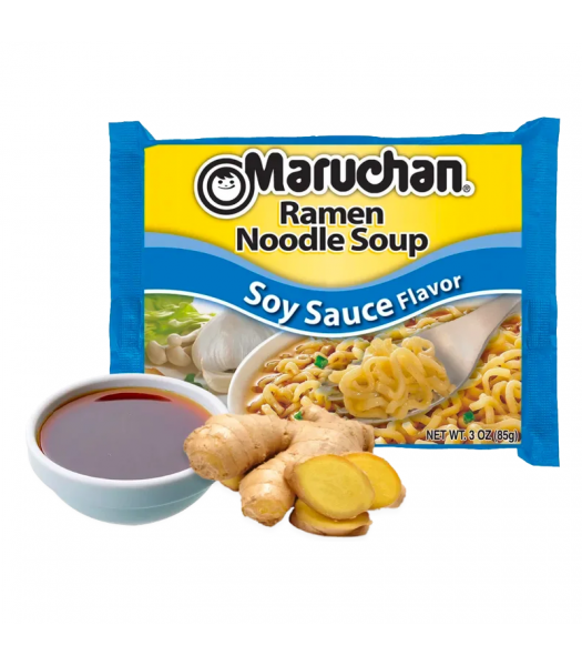 Maruchan - Soy Sauce Flavour Ramen Noodles - 3oz (85g) Food and Groceries Maruchan