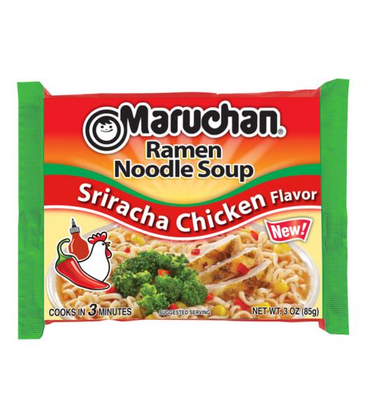 Maruchan - Sriracha Chicken Flavor Ramen Noodles - 3oz (85g) Food and Groceries Maruchan