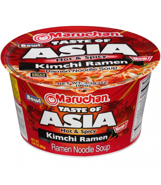 Maruchan Taste of Asia Kimchi - 3.38oz (96g) Food and Groceries Maruchan
