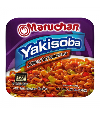 Maruchan Yakisoba Savoury Soy Sauce - 4.05oz (115g) Food and Groceries Maruchan