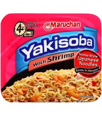 Maruchan - Shrimp Flavor Yakisoba Noodles - 4oz (114.5g) Pasta & Noodles Maruchan