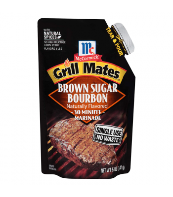 McCormick Grill Mates Brown Sugar Bourbon 30 Minute Marinade - 5oz (141g) Food and Groceries
