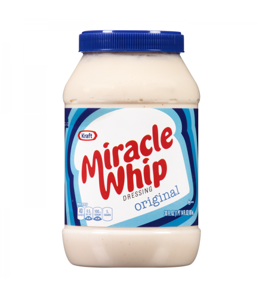 Miracle Whip Regular 30oz (850g) Sauces & Condiments Miracle Whip
