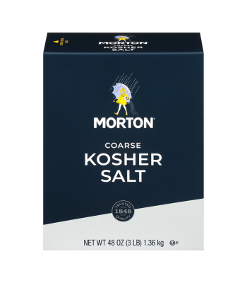 Morton Coarse Kosher Salt - 3lbs (1.36kg) Food and Groceries