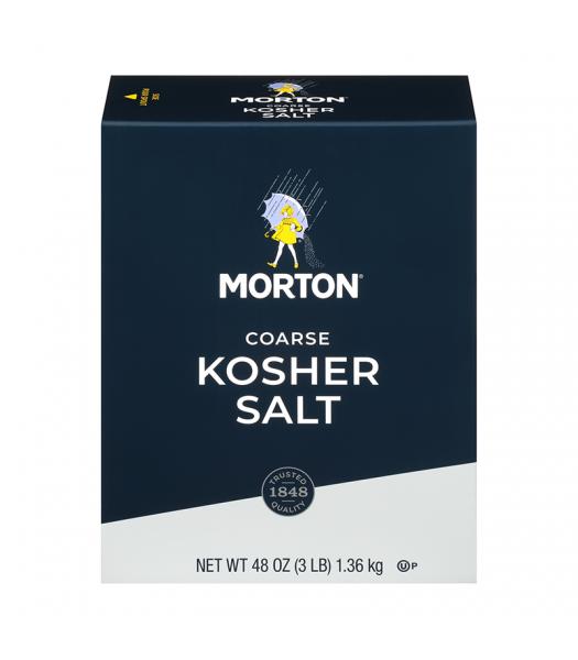 Morton Coarse Kosher Salt - 3lbs (1.36kg) Food and Groceries
