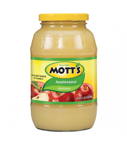 Motts Original Apple Sauce 24oz (680g) Food and Groceries Mott's