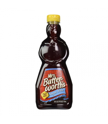 Mrs Butterworth Sugar Free Syrup - 24oz (710ml) Food and Groceries
