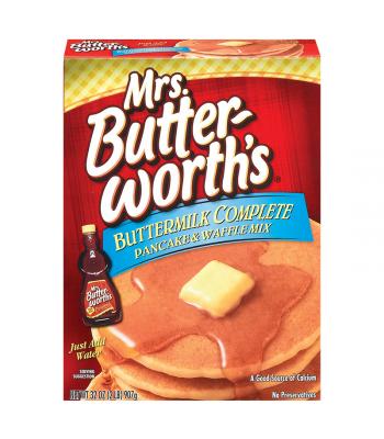 Mrs Butterworth Buttermilk Complete Pancake Mix 32oz (907g)