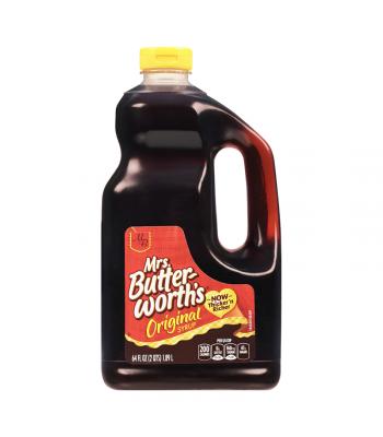 Mrs Butterworth Original Pancake Syrup HUGE Bottle 64oz (1.89 ltr) Food and Groceries