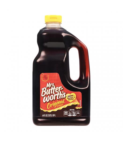 Mrs Butterworth Original Pancake Syrup HUGE Bottle 64oz (1.89 ltr)