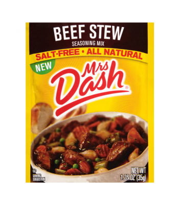 Mrs Dash Beef Stew Seasoning Sachet 1.25oz (35g) Spices & Seasonings