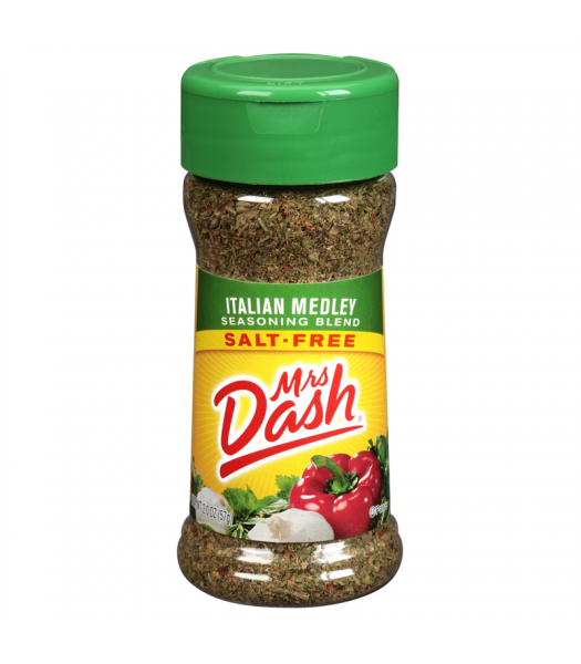 Mrs Dash Italian Medley Seasoning Blend 2oz (56g)