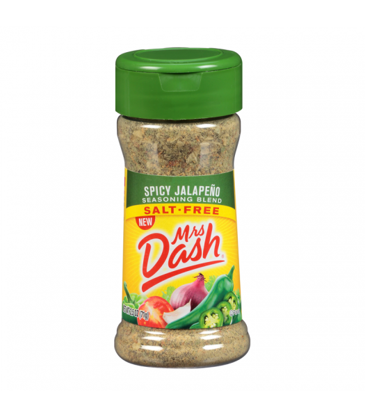 Mrs Dash Spicy Jalapeño Seasoning Blend - 2.5oz (71g) Food and Groceries