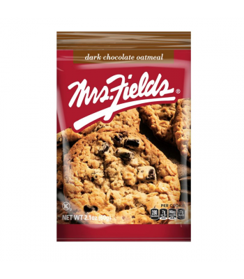 Mrs Fields Dark Chocolate Oatmeal Cookies - 2.1oz (60g) Cookies and Cakes