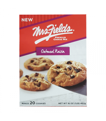 Mrs. Fields Oatmeal Raisin Cookie Mix - 16oz (453g) Cookies and Cakes