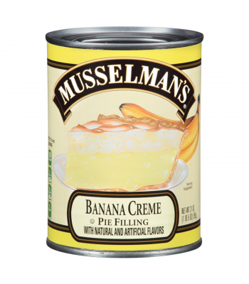 Clearance Special - Musselmans Banana Pie Filling 21oz  ** September 2016 ** Clearance Zone