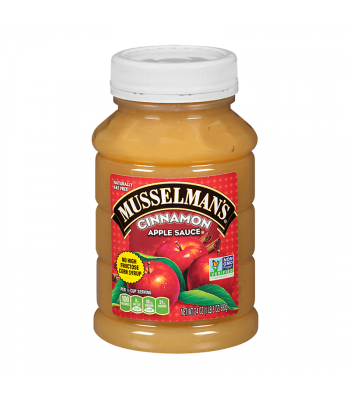 Musselman's Cinnamon Apple Sauce - 24oz (680g) Food and Groceries