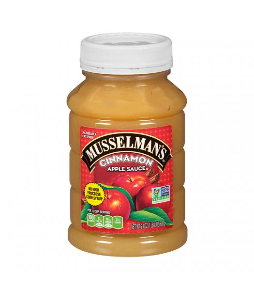Musselman's Cinnamon Apple Sauce - 24oz (680g) Food and Groceries