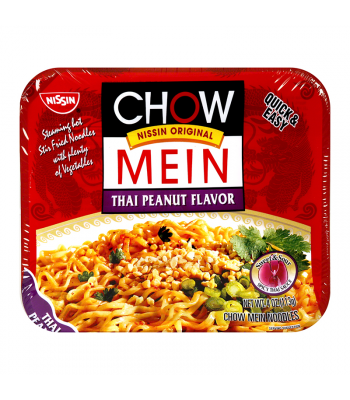 Nissin Chow Mein Noodles Thai Peanut - 4oz (113g) Food and Groceries Nissin