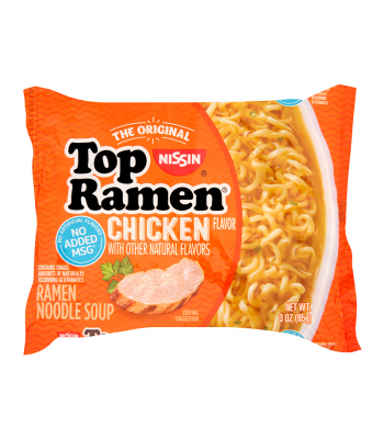 Nissin Top Ramen Chicken - 3oz (85g) Food and Groceries Nissin