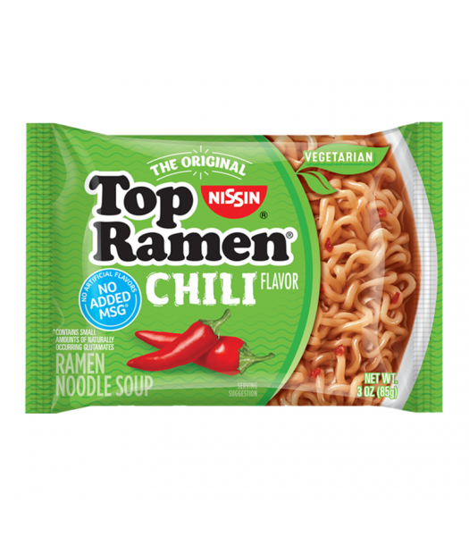 Nissin Top Ramen Chili - 3oz (85g) Food and Groceries Nissin
