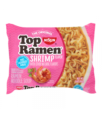 Nissin Top Ramen Shrimp - 3oz (85g) Food and Groceries