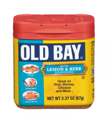 Old Bay Lemon & Herb Seasoning 2.37oz (67g) Food and Groceries Old Bay