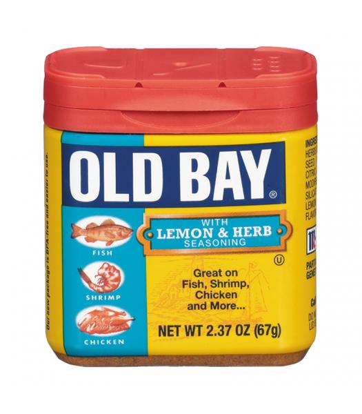 Old Bay Lemon & Herbs Seasoning 2.37oz (67g)